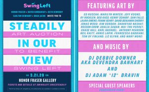 Steadily In Our View: Art Auction to benefit Swing Left