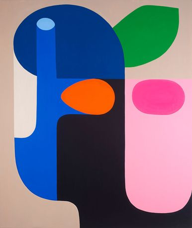 Spirit Tree 2018 © Stephen Ormandy, Oil on linen  78 ¾ x 66 ⅛ inches