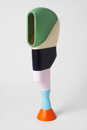 Seeker 2018 © Stephen Ormandy, Resin  59 ½ x 11 ¾ x 5 ⅞ inches