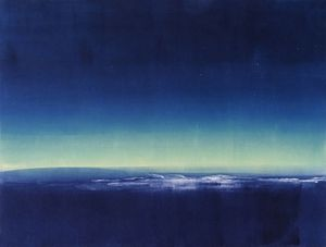 'Aurora' by Jill Ogilvy (monotype)
