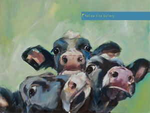 Sue Moffitt 'Cows' Exhibition