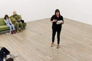 Sue Tompkins' 'Milk, Gluck, Handel, Fame' Opening and Performance