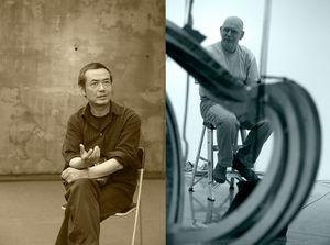 Sui Jianguo and Richard Deacon