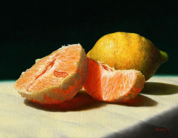 Still Life oil paitings by Chris Kendrick