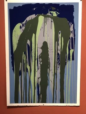 Summer group of prints from the 1970's; Stella, Nevelson, Poons & more