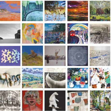 25 artists exhibiting in D Contemporary's group Summer Show