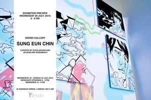 Sung Eun Chin Exhibition at Sensei 2016