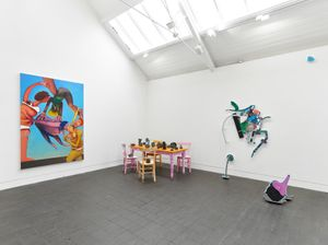 Survey - Installation View at Jerwood Space. Commissioned by Jerwood Charitable Foundation. Photo: Anna Arca