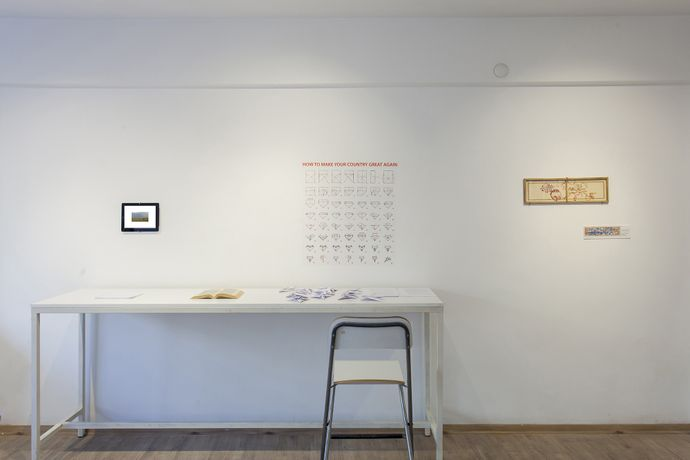 Survival Kit. Installation view