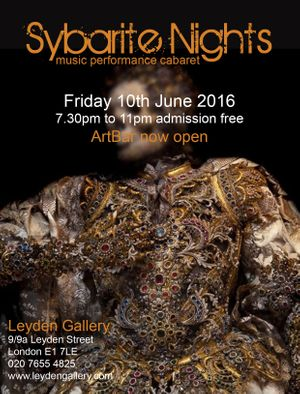 Sybarite Nights event 10th June 2016