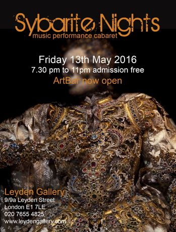 Sybarite Nights 13th May 2016