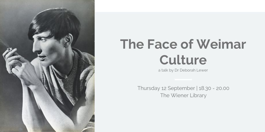 Talk: The Face of Weimar Culture: Image 0
