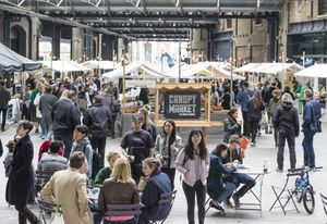 Talk, Tour + Networking at Canopy Market with Made In Arts London.