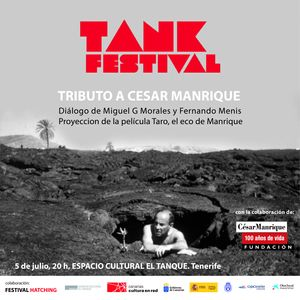 Poster of Tank Festival 2019 - Tribute to Cesar Manrique