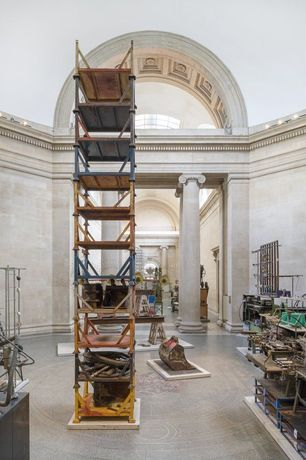 Mike Nelson: The Asset Strippers install view Tate Britain 2019. Photo: © Tate​ (Matt Greenwood)
