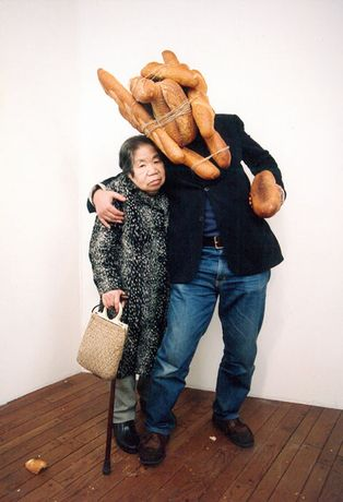 From the series Breadman Son + Alzheimer Mama 1996 / 2007