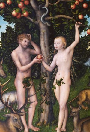 Temptation in Eden: Lucas Cranach's Adam and Eve
