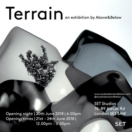 TERRAIN - exhibition invite