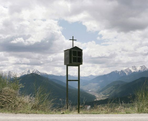 Roadside Shrine by Yiannis Katsaris