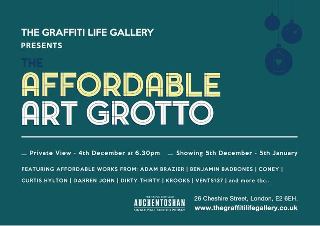 The Affordable Art Grotto - The Graffiti Life Gallery