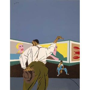 The American Scene: Prints from Hopper to Pollock