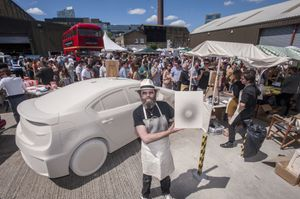 Art Car Boot Fair, London, 2014. Photo by Nick Cunard, Courtesy of Art Car Boot Fair