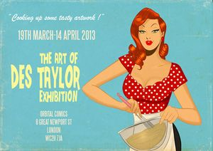 THE ART OF DES TAYLOR EXHIBITION