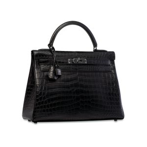 Hermès: So Black Kelly handbag