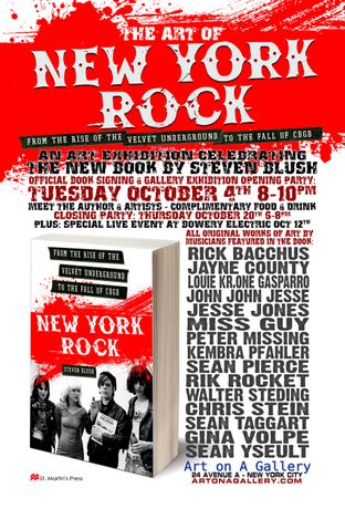 """The Art of NEW YORK ROCK"": Image 0"