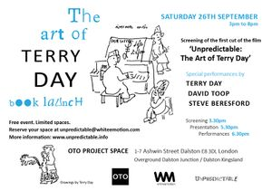 The Art Of Terry Day | Book Launch & Performances
