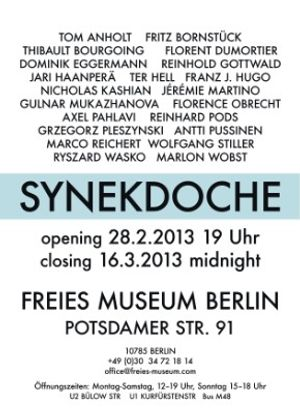 The Artists' Show / Synekdoche