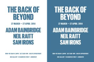 The Back of Beyond Group Exhibition