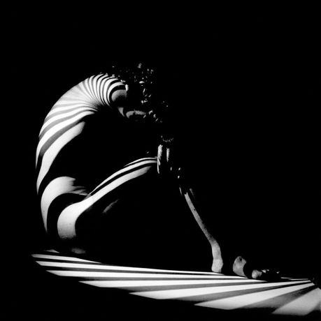 Zebra woman, Zurich, Switzerland, 1942. Copyright Werner Bischof/Magnum Photos.