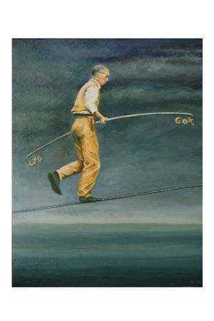 Walking a Tightrope, Isabelle Bakhoum