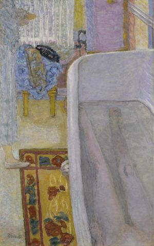 Pierre Bonnard, Nude in the Bath 1925. Tate