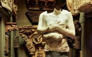 The Collector's Curse: Drawing Marc Quinn at the Soane Museum