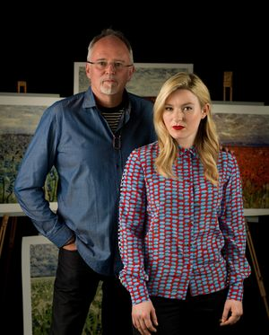 Artists Scarlett Raven and Marc Marot
