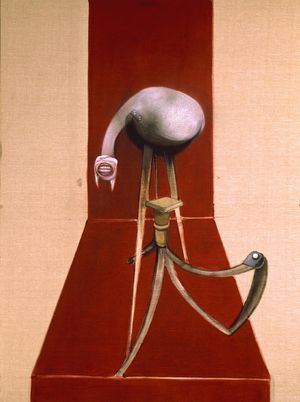 Francis Bacon: Eumenides/Three Figures at the Base of a Crucifixion