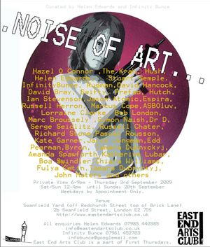 The East End Arts Club Presents... The Noise of Art
