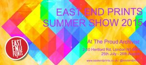 THE EAST END PRINTS SUMMER SHOW 2015
