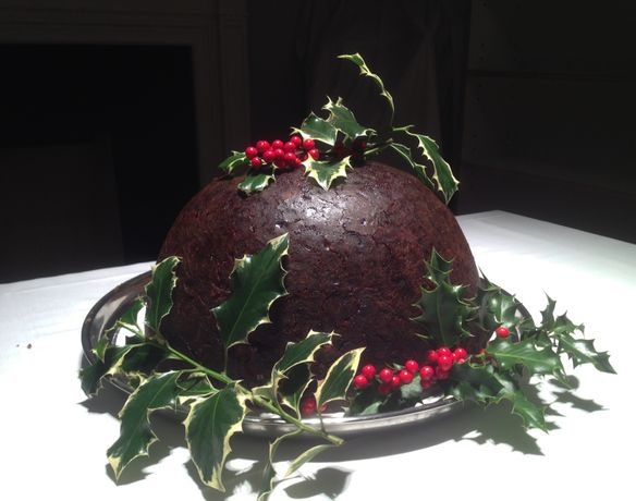 Cooking Sections, Christmas Pudding, 2015. Photo courtesy Cooking Sections.