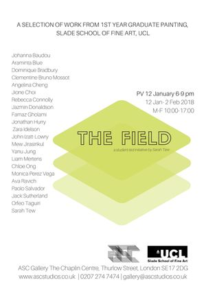 The Field, a student-led initiative by Sarah Tew