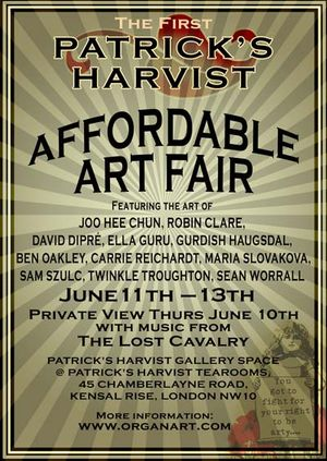 THE FIRST PATRICK'S HARVIST AFFORDABLE ART FAIR