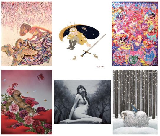 Sixteen Japanese artists-1