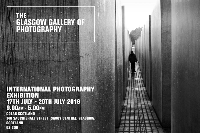 The Glasgow Gallery of Photography Exhibition July 2019