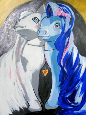 Sweetheart Sister and Pony Bride by Penny Tristram