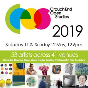 The Group Show and the Crouch End Open Studios Art Trail weekend