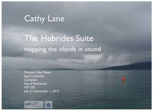 The Hebrides Suite: Mapping the islands in sound