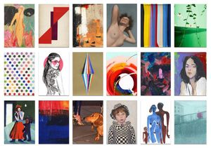 The Hepatitis C Trust's Art On A Postcard Secret Auction - Damien Hirst, Grayson Perry & more