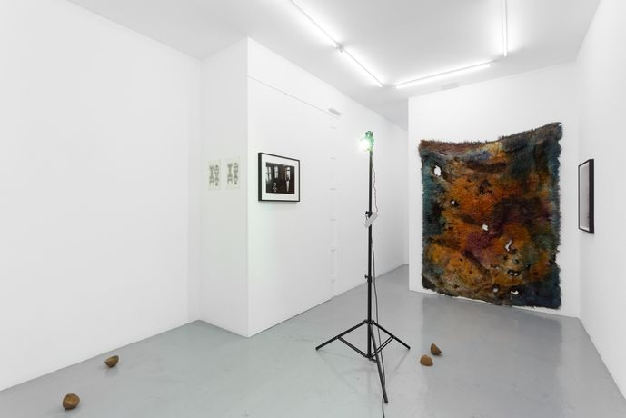 The Hired Grievers, installation view